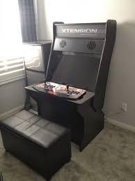 Tankstick Cabinet Plans Nerding Out Sit Down Arcade