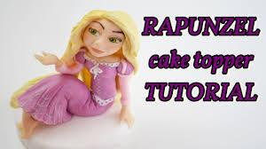 rapunzel cake topper how to make tangled cake topper fondant rapunzel in pasta di