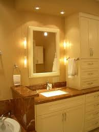 Bathroom Vanity Light Ideas Modern Bathroom Vanity Lighting Ideas Dark Orange Futuristic