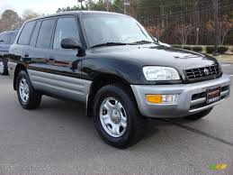 black 2000 toyota rav4 standard rav4 model exterior photo