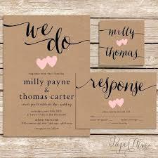 wedding invitations canada craft paper invitations rustic wedding invitation paper wedding