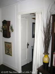 Hallway Door Curtains Hallway Door Curtains Tension Rod And Filmy Curtains And An