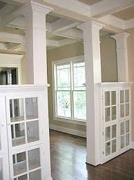 Dining Room Glass Cabinets by Love The See Through Glass Cabinets Used To Separate 2 Areas Of