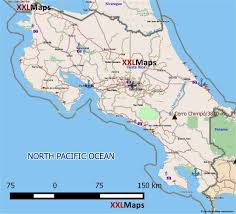 Map Costa Rica Tourist Map Of Costa Rica Free Download For Smartphones Tablets