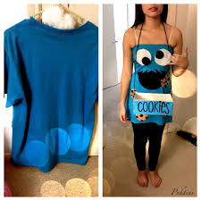 The Joy Of Fashion Halloween Cute Homemade Cookie Monster Costume by Best 25 Cookie Monster Costumes Ideas On Pinterest Monster