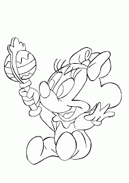 baby mouse coloring page coloring home