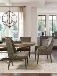 Woven Dining Room Chairs Cypress Point Brandon Woven Side Chair Lexington Home Brands