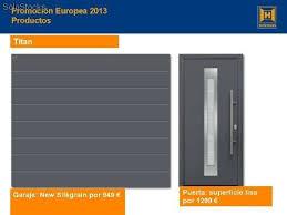 puertas de cocheras automaticas precios puertas de garaje aluminio anodizado panel paso puerta de