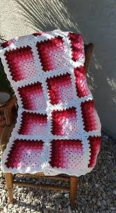 free pattern granny square afghan directions and photos on making this mitered granny square afghans