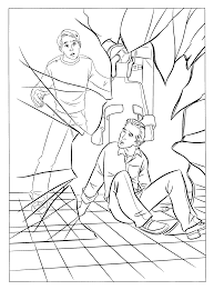 coloring pages spider man animated images gifs pictures