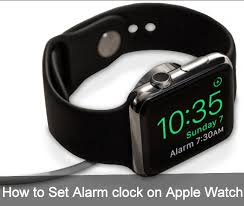 how to set alarm clock on apple watch for nightstand mode