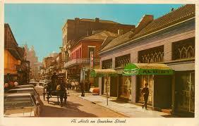 Bourbon Street New Orleans Map by Al Hirt U0027s Club New Orleans Music Map