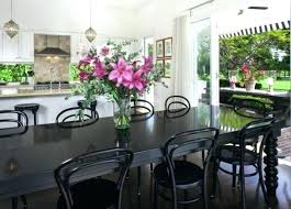 Dining Room Flower Arrangements - dining table fake flowers for dining room table centerpieces