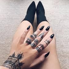 black henna style 3 indigo lune accessories pinterest