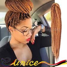 ombre human braiding hair 18 synthetic crochet braids hair 3x box braids hair human