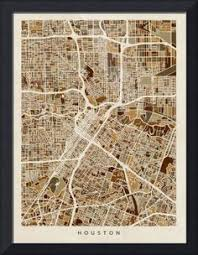 houston map buy city of houston wall map poster high by mapartofearth