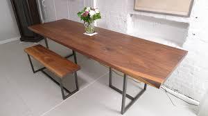 table ideas photo fascinating dining wood top white legs lavish