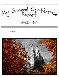 general conference activities and packets u2013 food storage and beyond