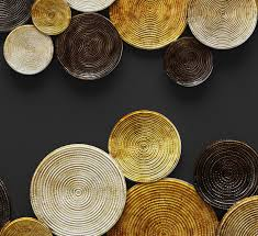 Amazing Design Circle Wall Decor With Aurelle Home Gold