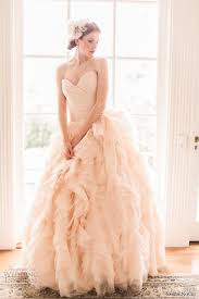 wedding dress designs top 15 blush wedding dress designs unique theme for