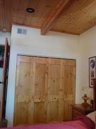 How To Build Bi Fold Closet Doors White Bi Fold Closet Doors Diy Projects