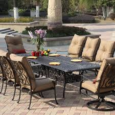 Black Iron Outdoor Furniture by Dining Room Excellent Patio Outdoor Dining Table Combined With