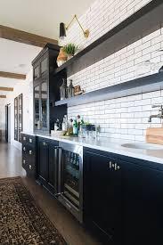 modern farmhouse kitchen black cabinets modern farmhouse kitchen black cabinets painted in benjamin