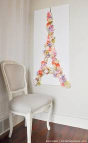 Eiffel Tower Decorations Kara U0027s Party Ideas Diy Springtime In Paris Eiffel Tower Floral