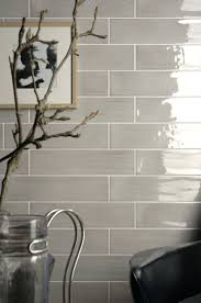 tiles grey subway tile backsplash kitchen travertine tile