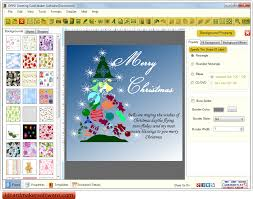 greeting card maker software new year festival cards