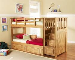 Boy Bunk Bed Leading Benefits Of Bunk Beds With Stairs Blogbeen