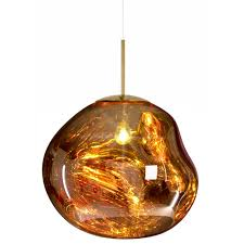 buy the tom dixon gold mirror ball pendant light utility design uk