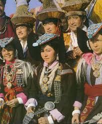 ladakh clothing ladakh dress and ornaments