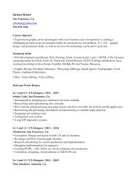 Ui Ux Resume Professional Graphics Designer Production Artist Resume Template
