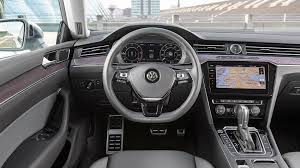 volkswagen phaeton interior vw arteon 2017 review by car magazine