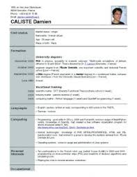 resume template format of in word ms within free templates for