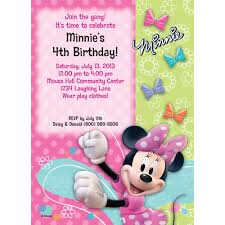 miss mouse invitation party supplies