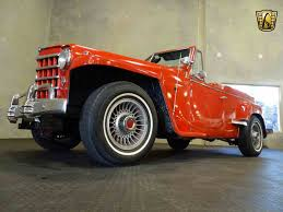 custom willys jeepster 1950 jeep willys for sale classiccars com cc 997725