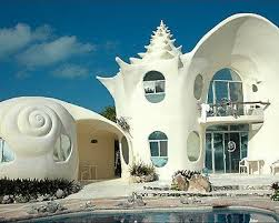 conch house conch shell house isla mujeres mexico atlas obscura