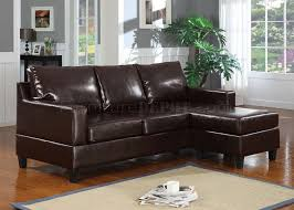 15915 vogue sectional sofa in espresso bonded leather by acme