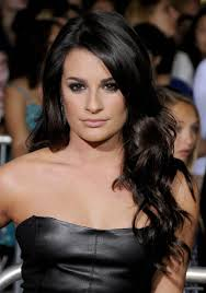 love lea michele u0027s hair without the bangs people pinterest
