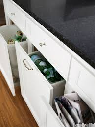 Kitchen Cabinet Recycle Bins by How To Conceal Clutter Stylishly Hide Messes