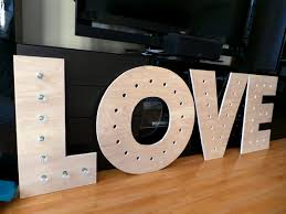 diy wood u0026 metal marquee letters weddingbee