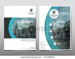 technical brochure template blue curve technology annual report brochure flyer design template