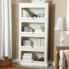 white book case is elegant order for culture marku home design