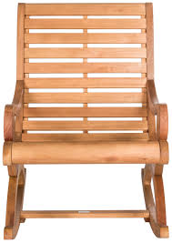 Wooden Rocking Chair Outdoor Porch Rocking Chair Outdoor Furniture Safavieh Com