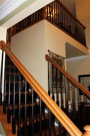 Staircase Spindles Ideas The 25 Best Black Banister Ideas On Pinterest Painted Banister