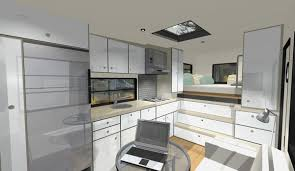 Design Your Own Motorhome Custom Rv Designs A Residential Architect Tackles A New Obsession