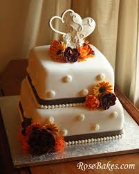fall wedding cakes awesome wedding cakes for a fall wedding