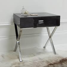 http www sweetpeaandwillow com beds bedroom bedside tables shagreen side table dark sweetpea willow each